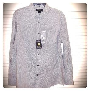 NWT Claiborne Easy Care Long Sleeve Shirt: M